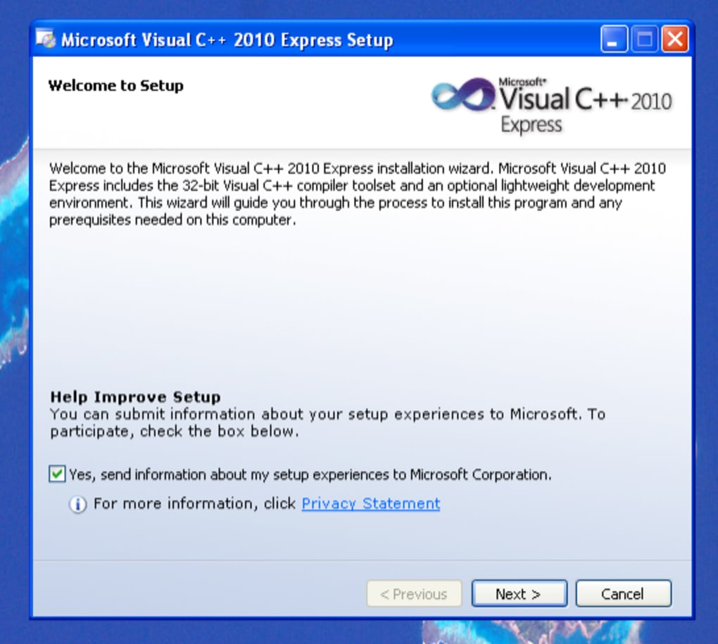 Visual C++ - Download
