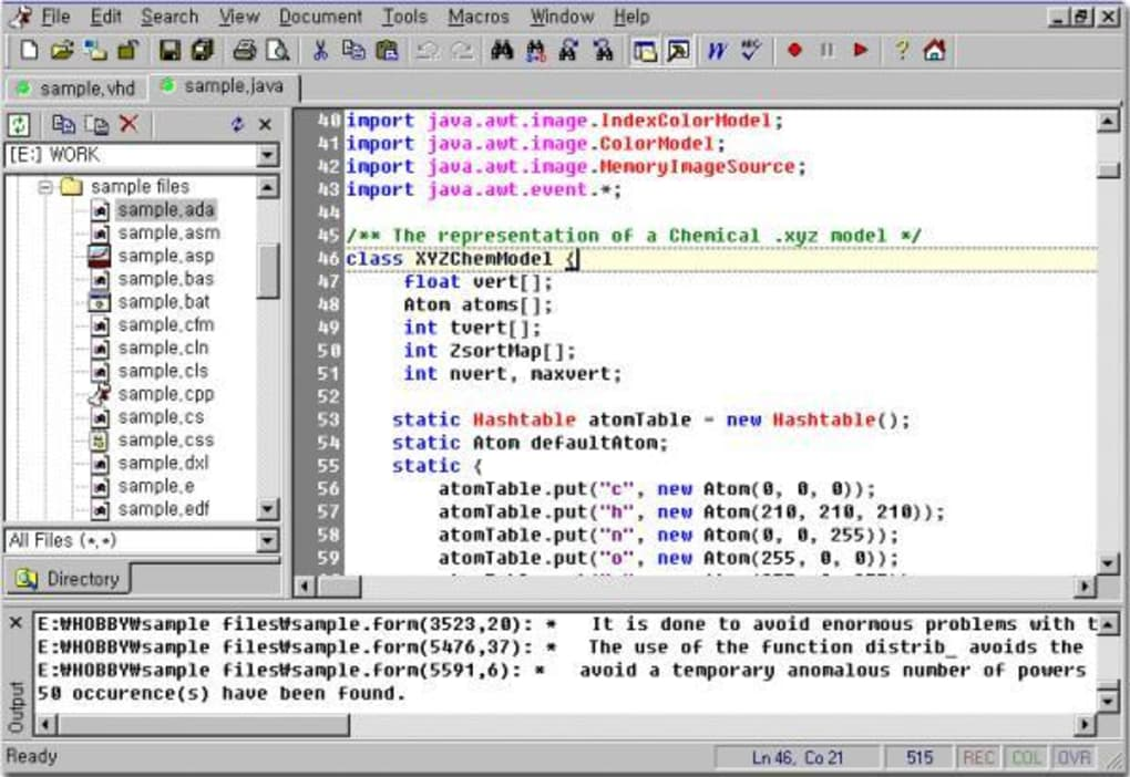 Crimson Editor - Download