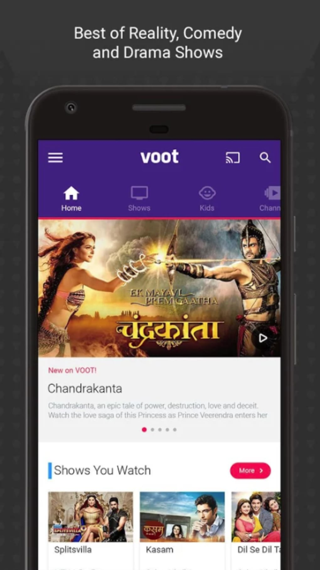 Voot TV for Android - Download