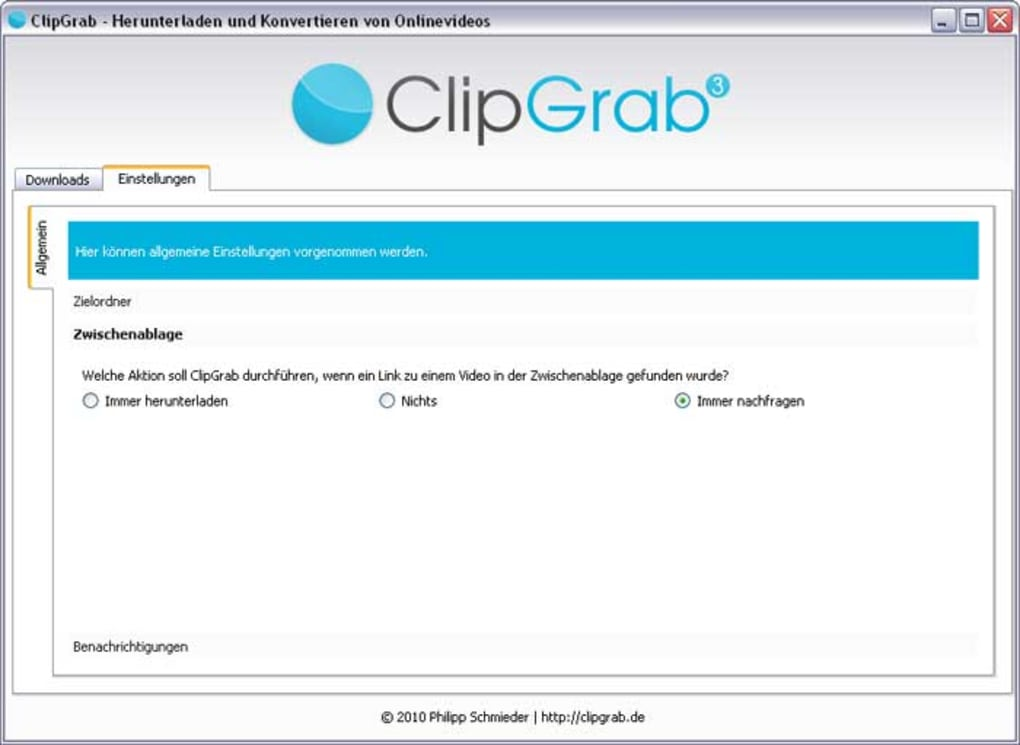 ClipGrab - Download
