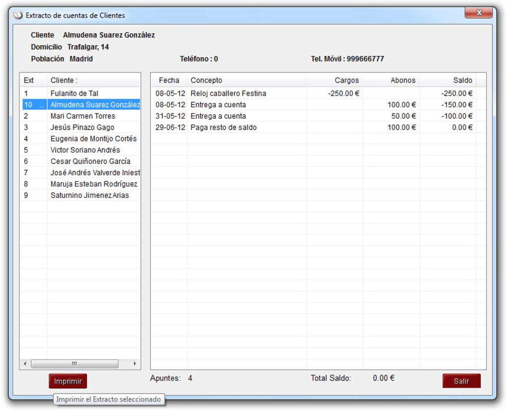 Libreta de Clientes - Descargar