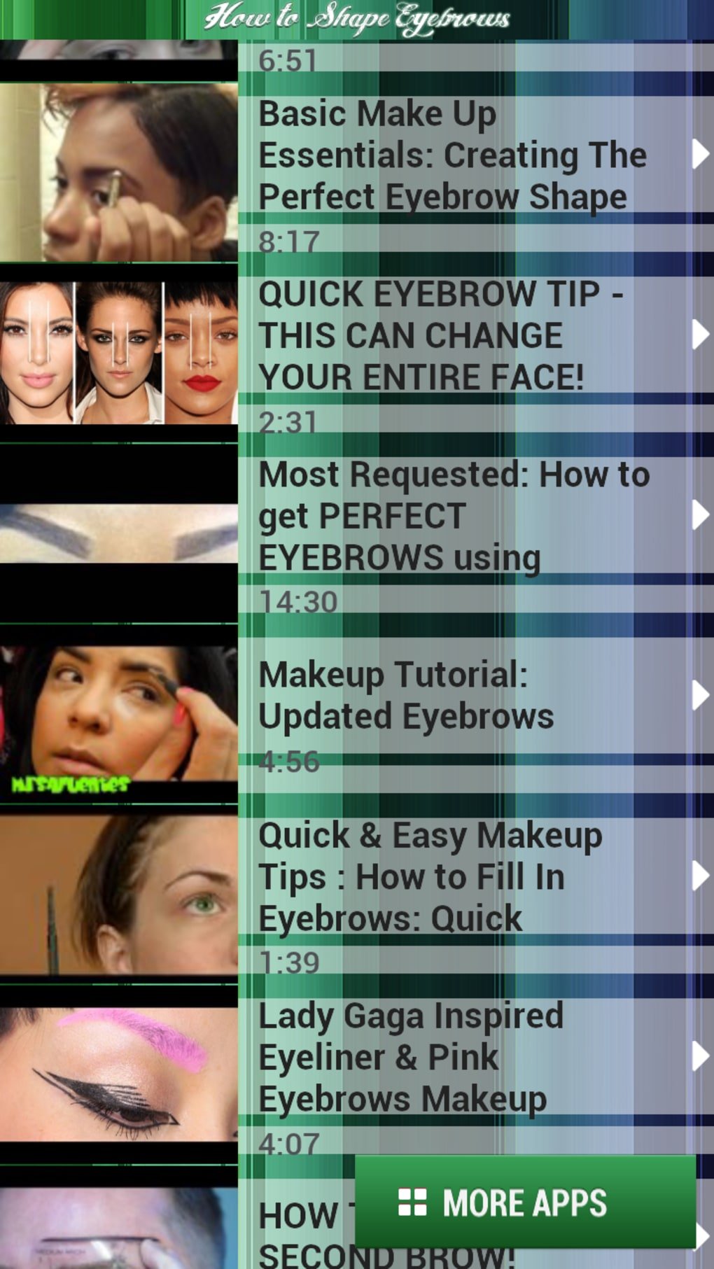 How To Shape Eyebrows For Android Download