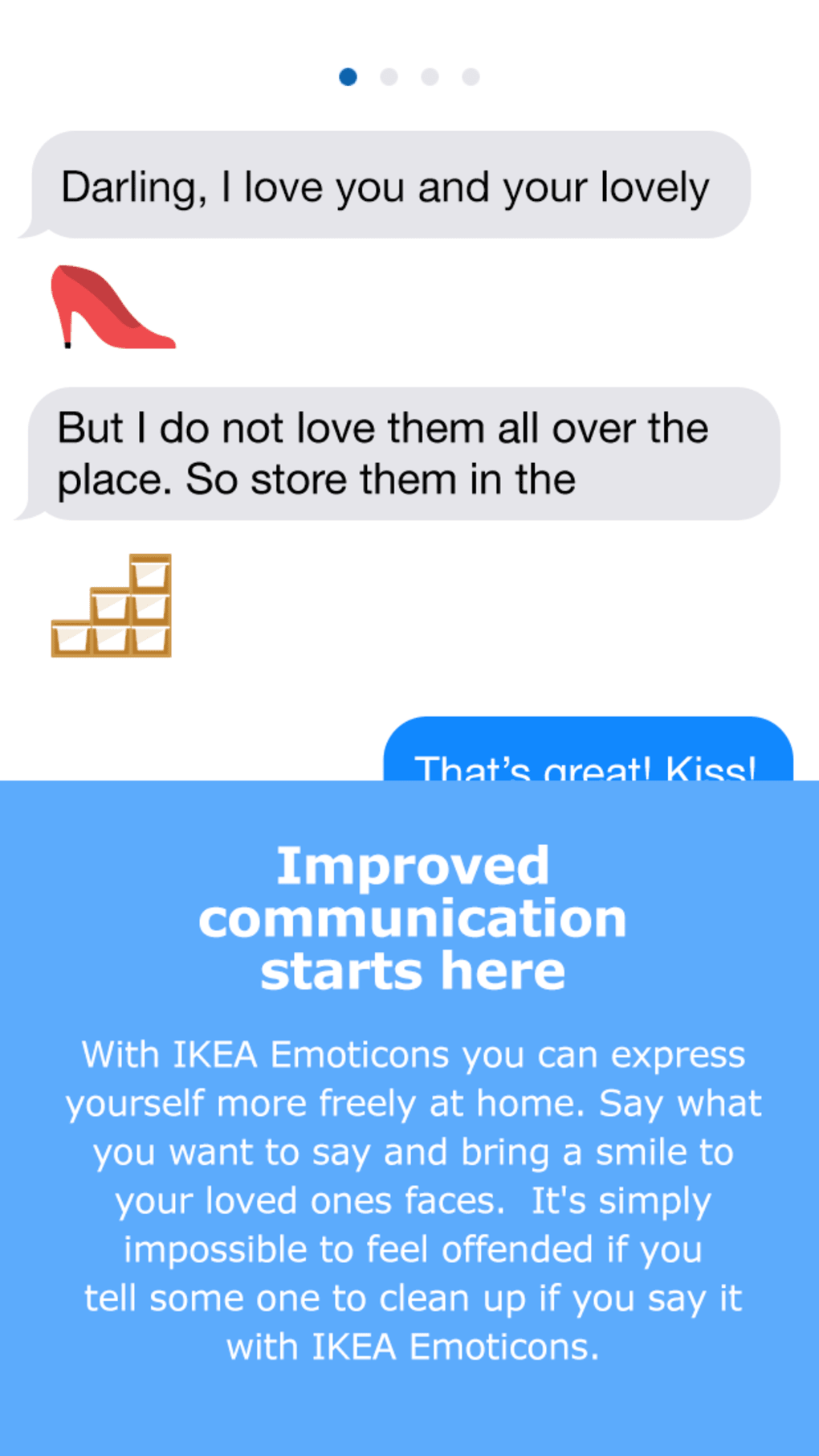 Ikea Emoticons for iPhone - Download