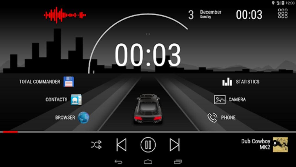 Road - theme for CarWebGuru launcher для Android — Скачать