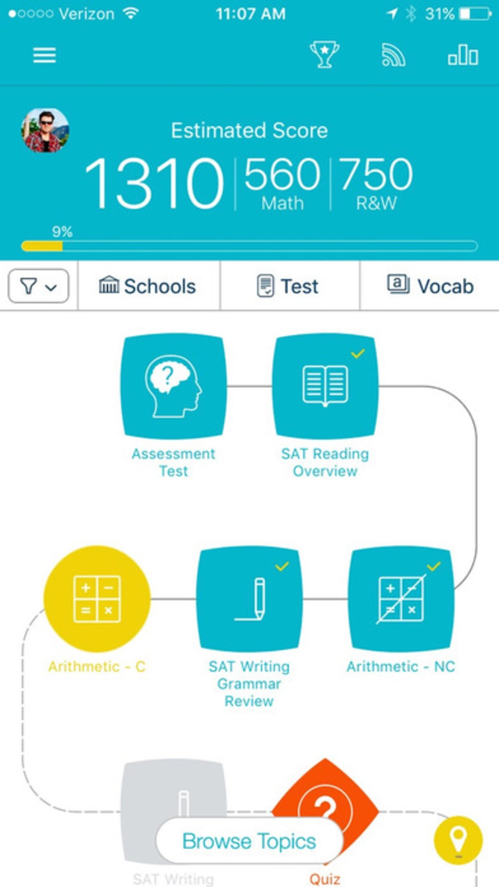 SAT Prep by Ready4 for Android - Download