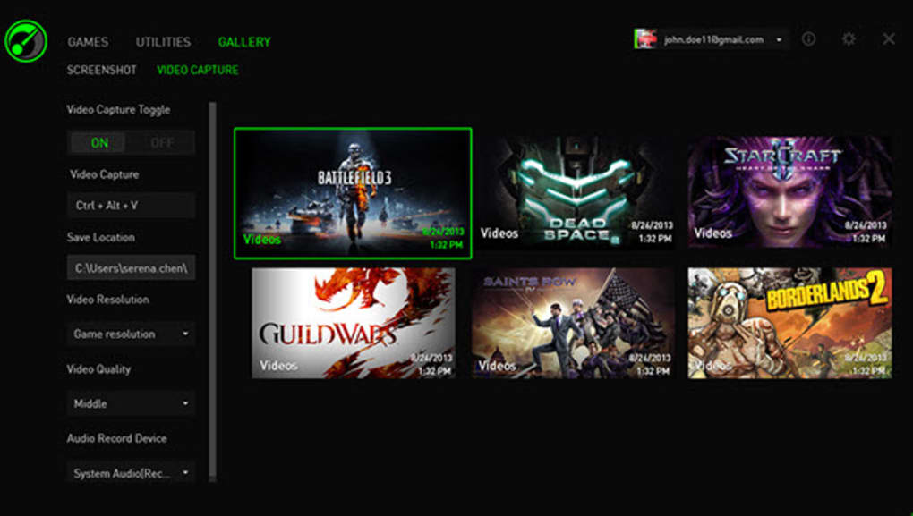 Razer Game Booster - Download