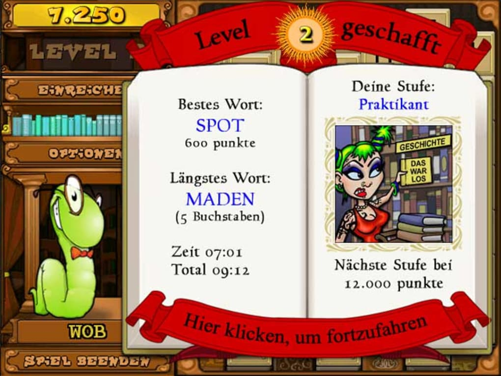 Bookworm Deluxe Deutsch