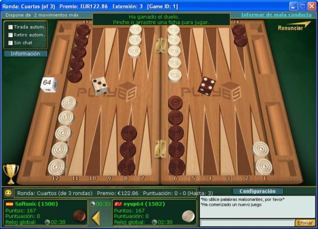 Backgammon No Download