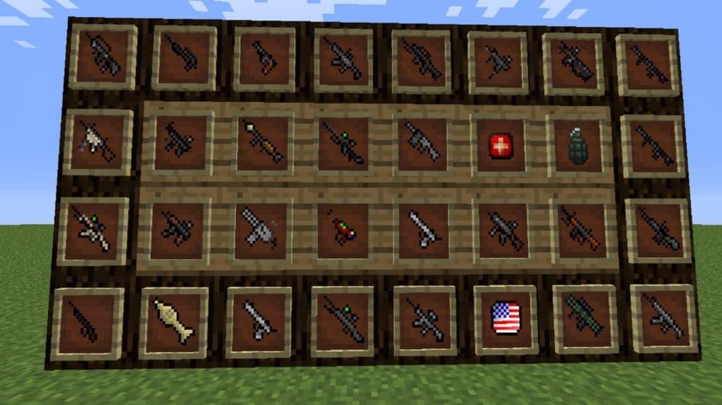 Guns Mod For Pe Download