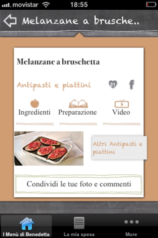 I Menù Di Benedetta Benedetta Parodi Per Iphone Download