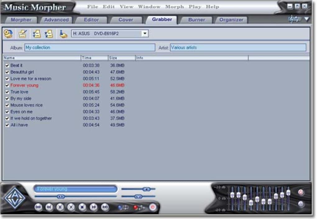 GOLD TÉLÉCHARGER 4.0.66 MUSIC MORPHER GRATUIT AV
