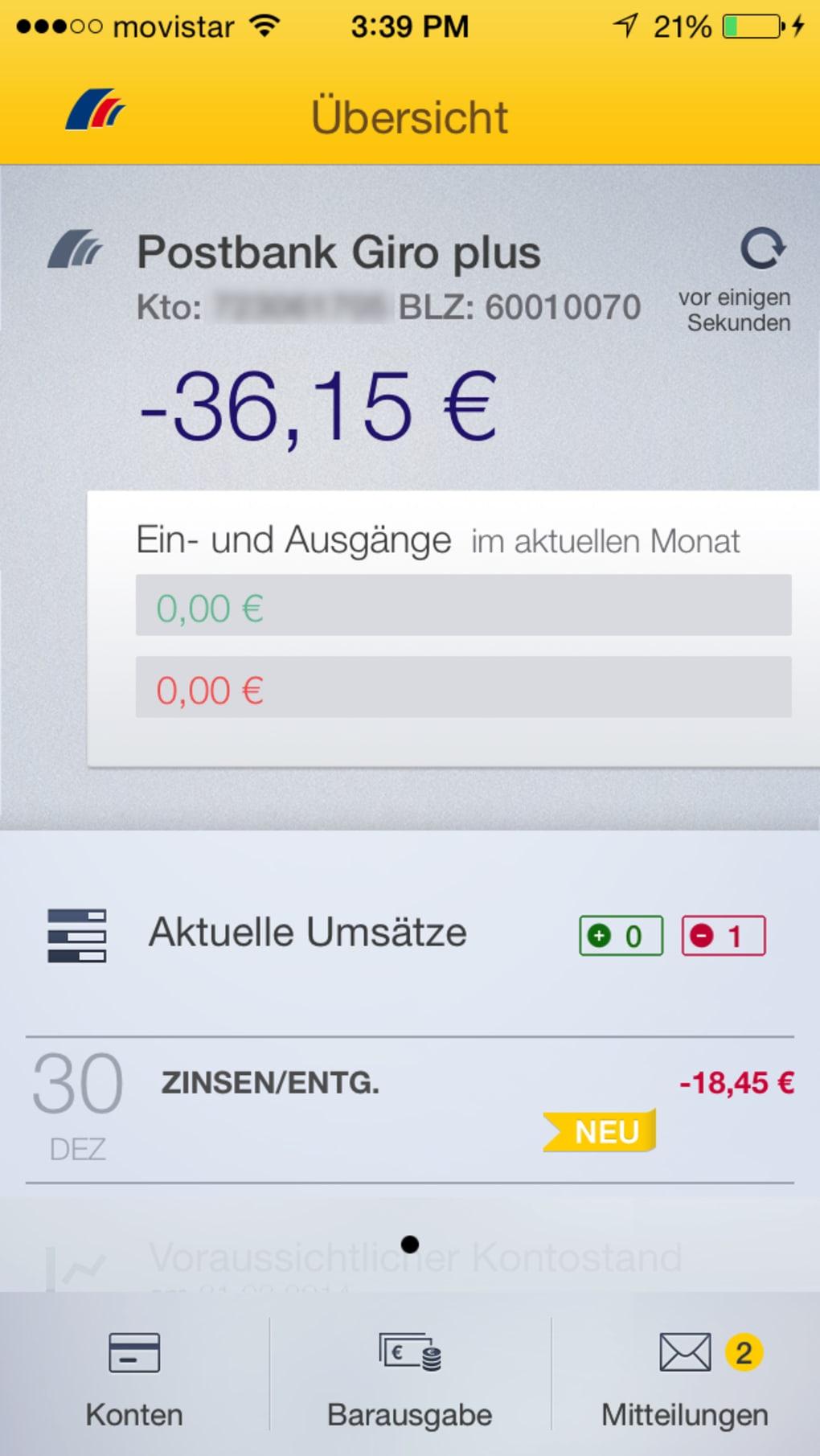 online banking postbank deutschland