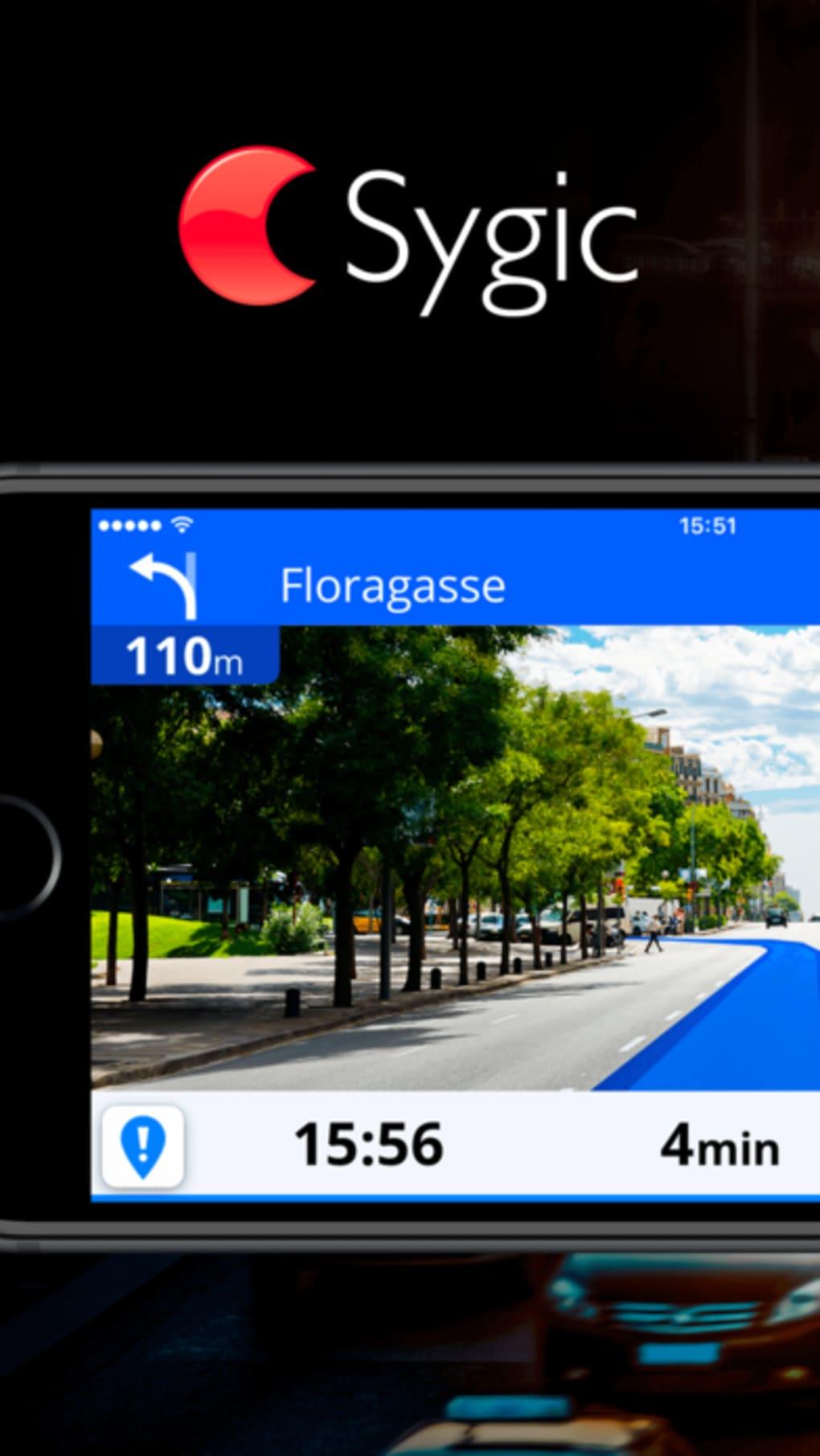 Sygic GPS Navigation Maps für iPhone - Download