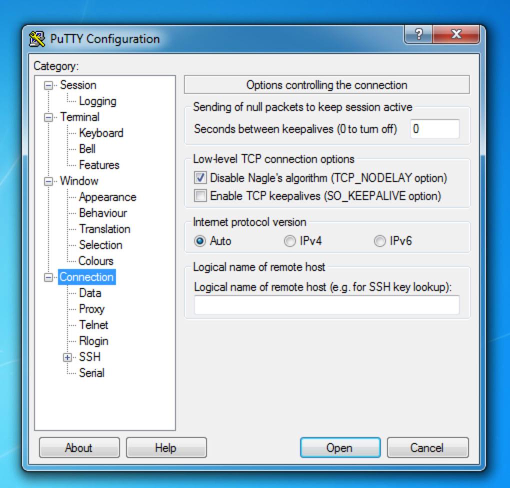 putty download windows 7 64 bit deutsch