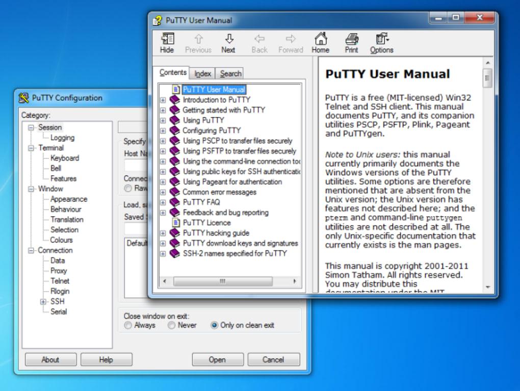download putty windows 8.1
