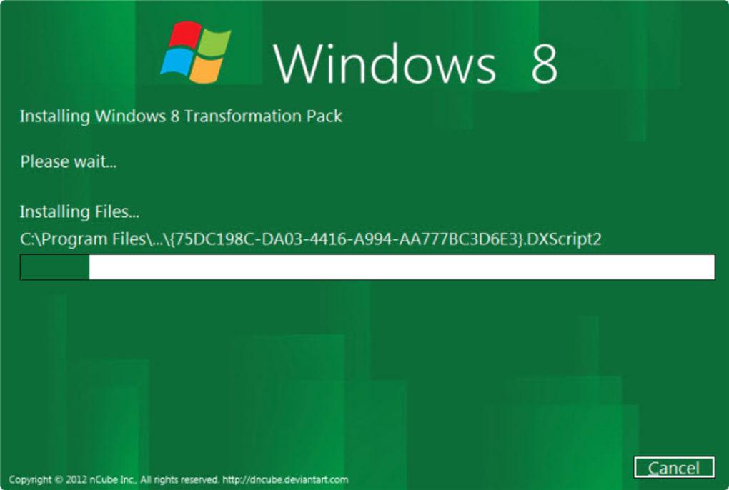 Windows 8 Start Panel