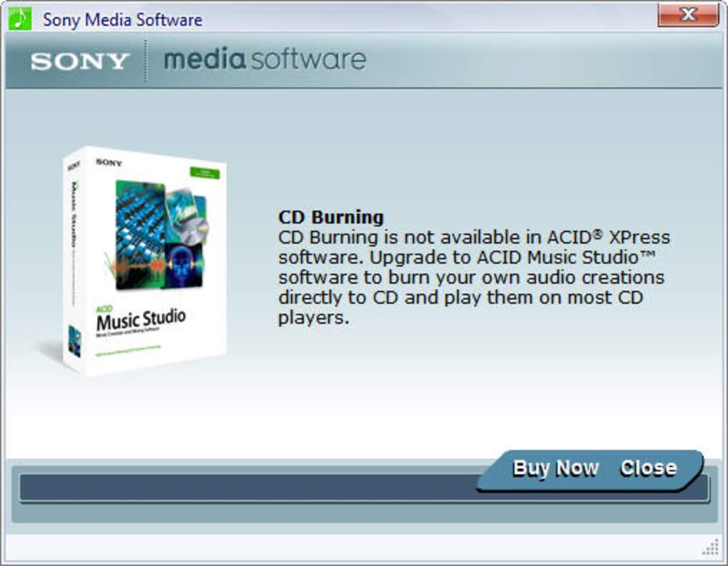sony acid xpress free download