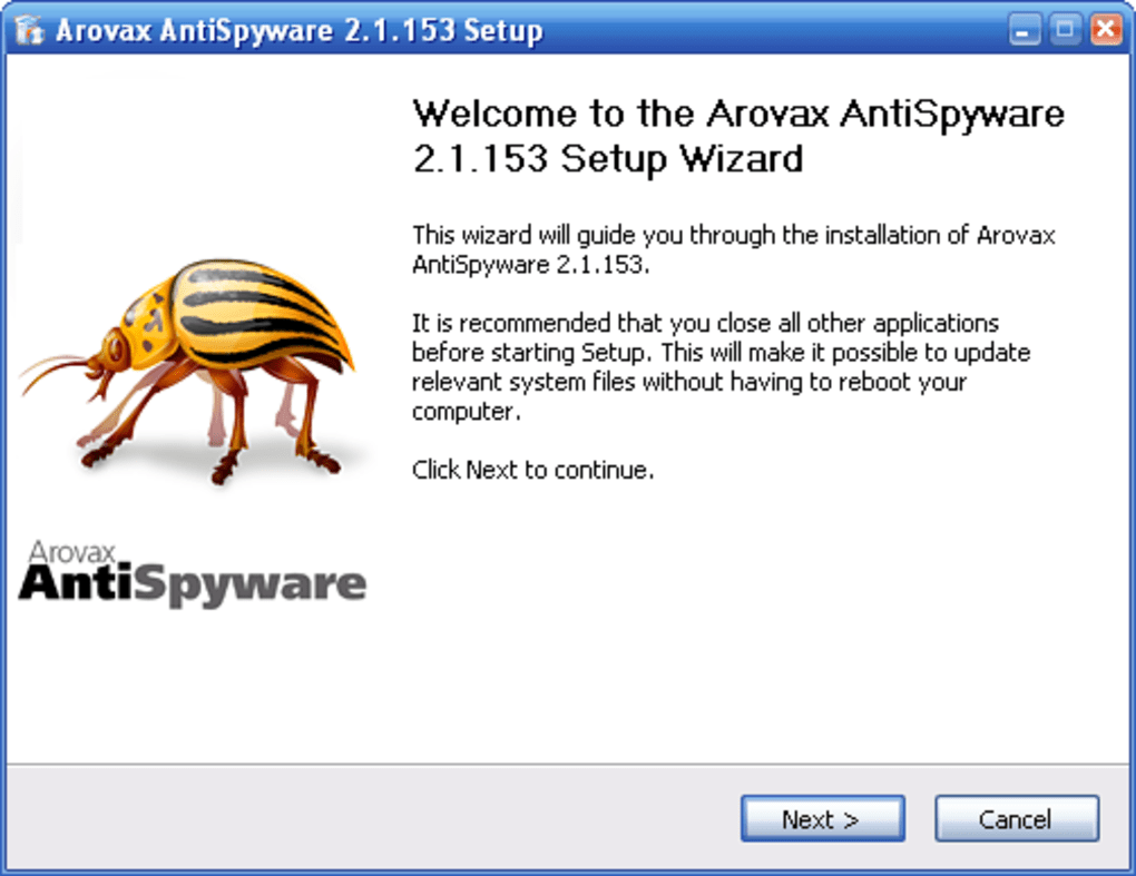 arovax anti spyware gratuit