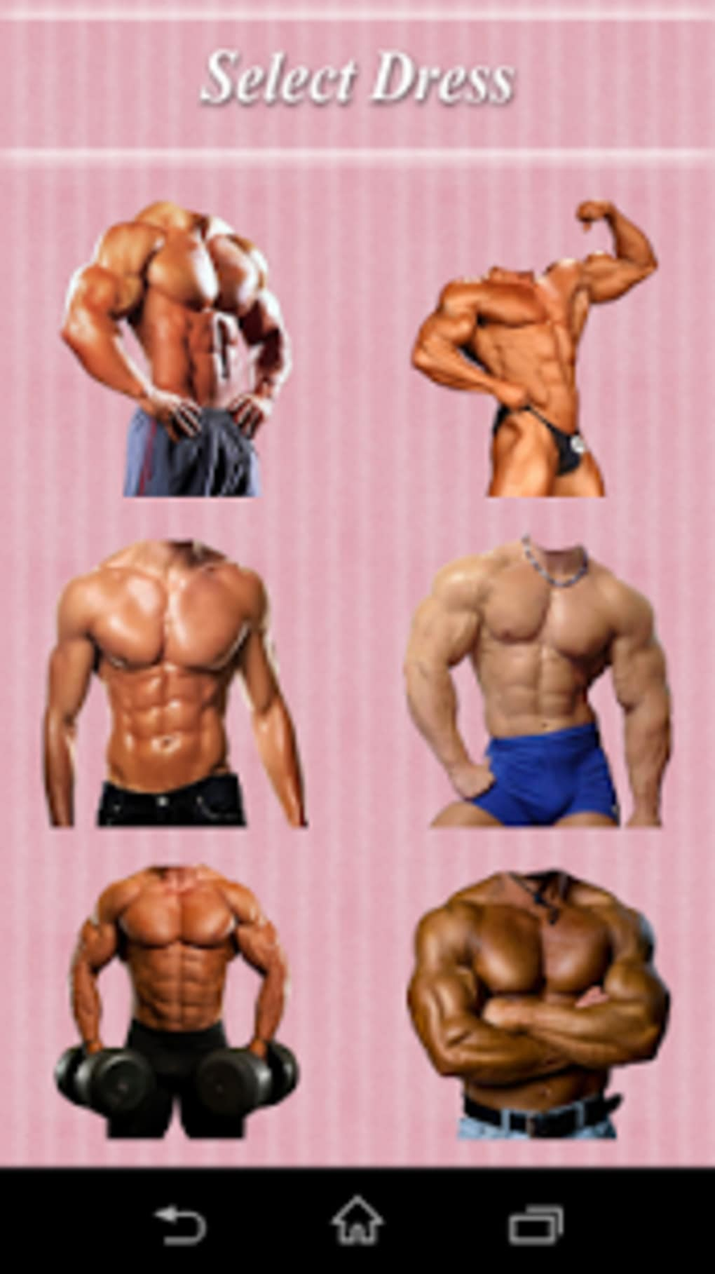 Body Building Men Fashion