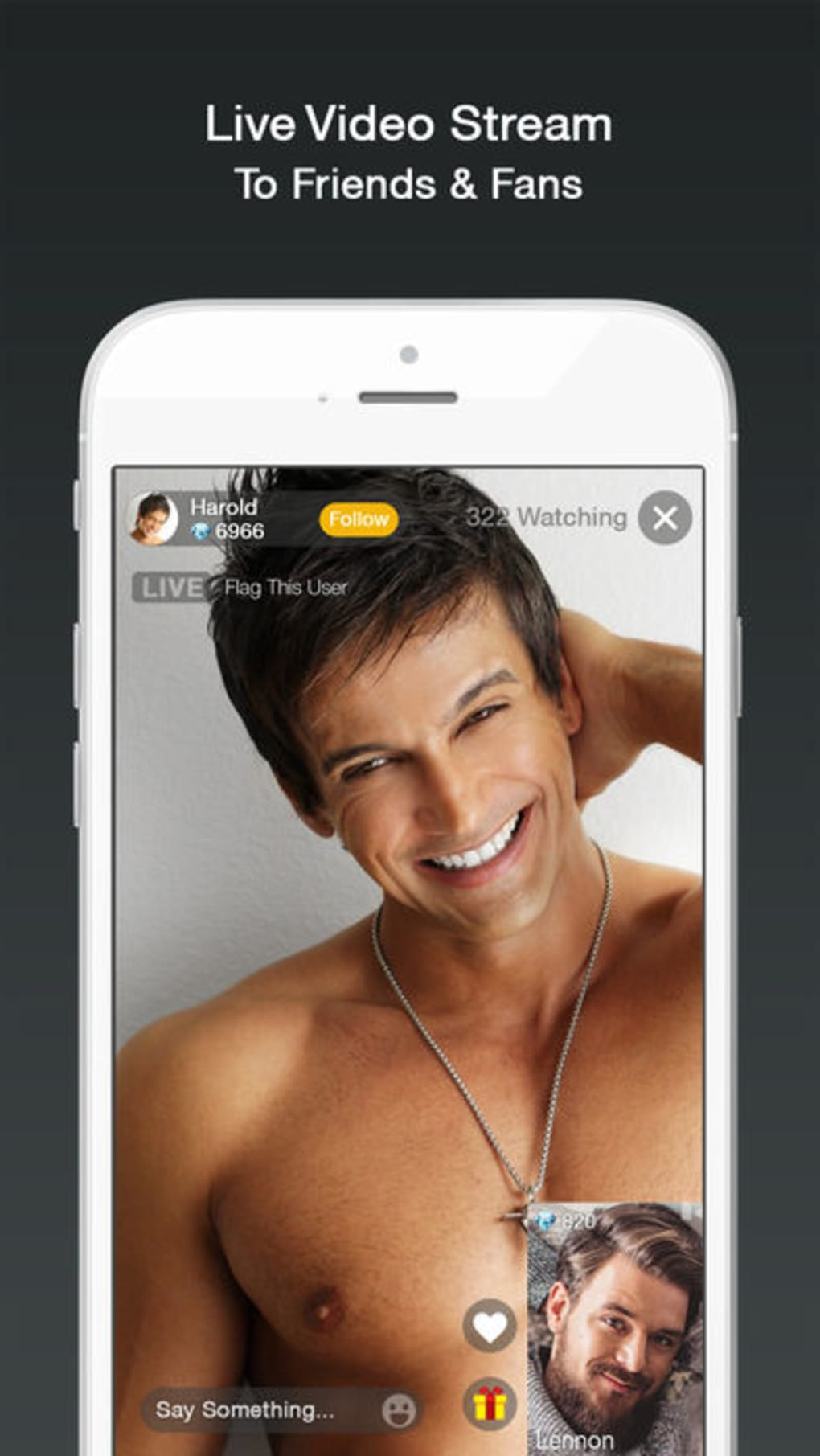 Free gay live video chat