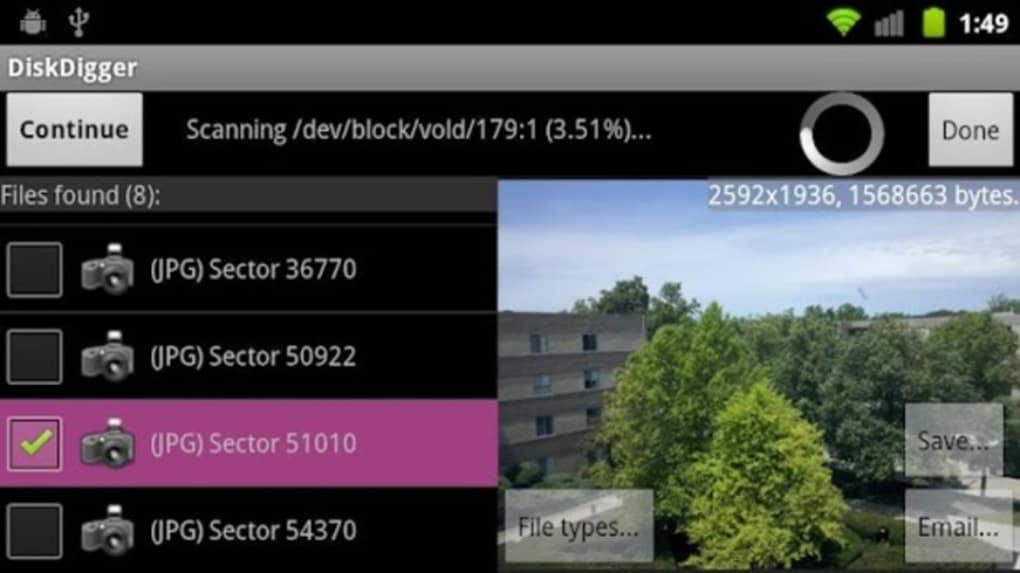 DiskDigger Undelete for Android - Download
