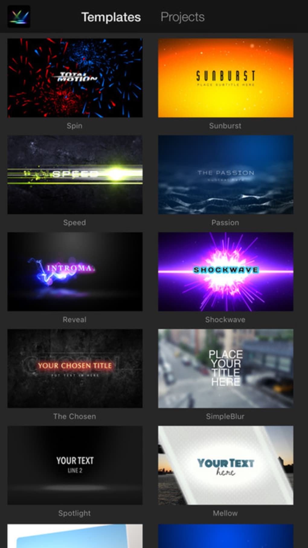 IntroMate - Intro Maker for iMovie for iPhone - Download