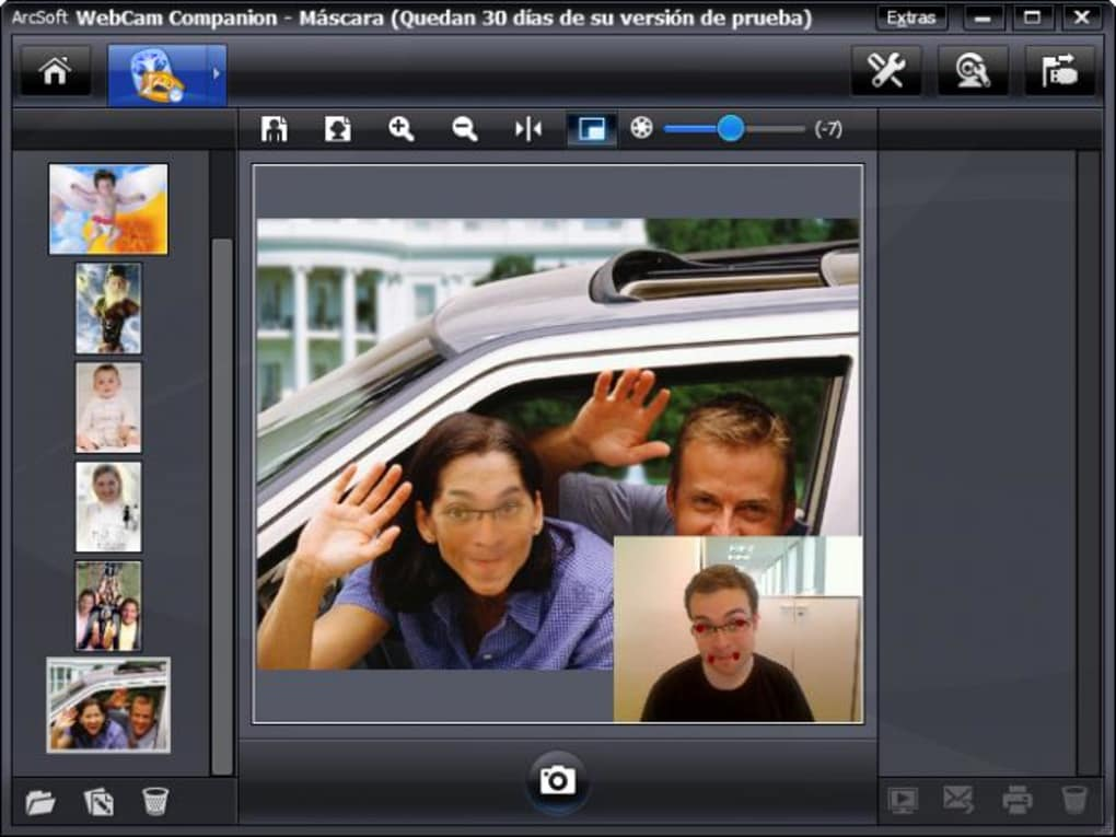 Manycam virtual webcam: add free animations and graphics to webcam.