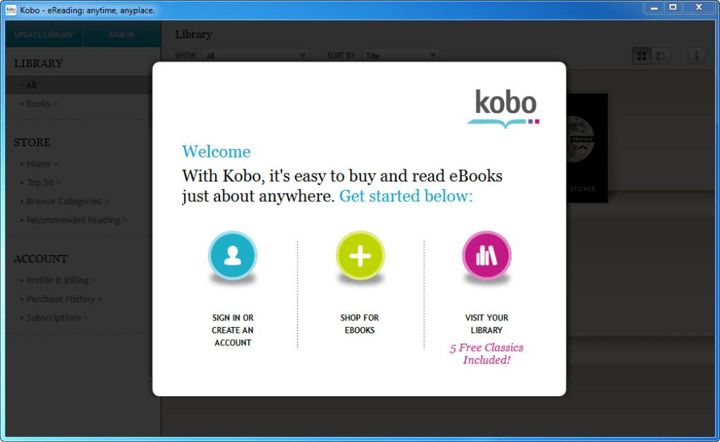 kobo download mac