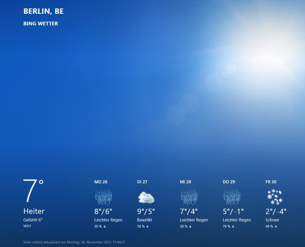 wetter app windows 8 download