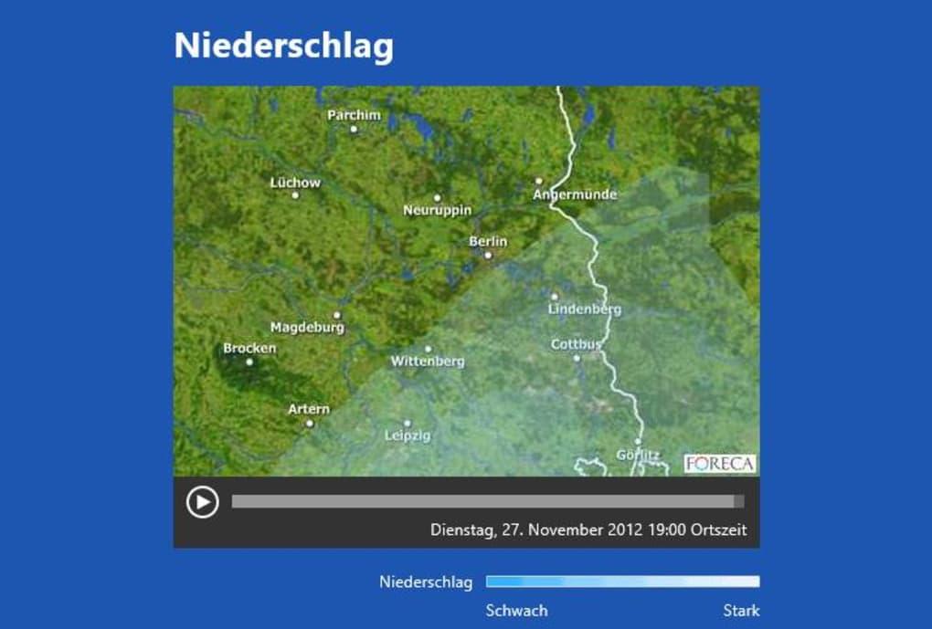 Wetter app kostenlos installieren deutsch