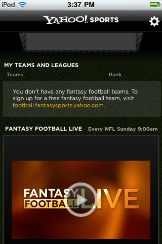 Yahoo! Fantasy Football, Basketball, Hockey, Baseball for