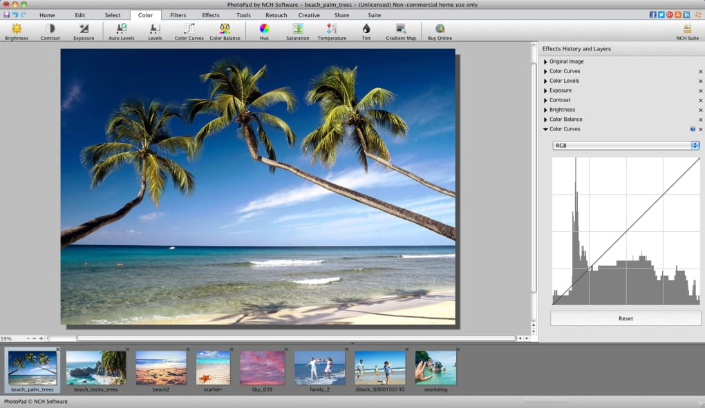 PhotoPad Photo Editor for Mac - Download