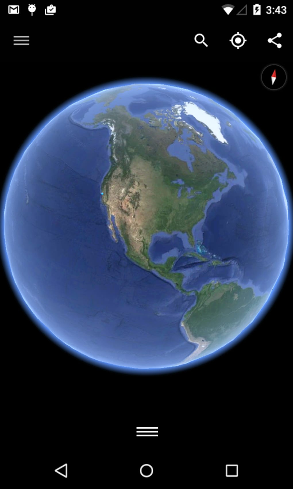google earth gratis per android