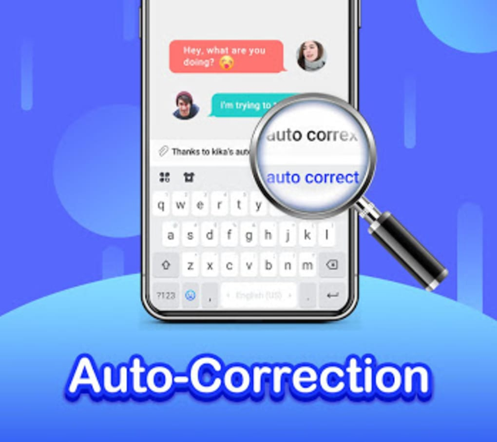 Kika Keyboard 2019 - Emoji Keyboard Emoticon GIF for Android