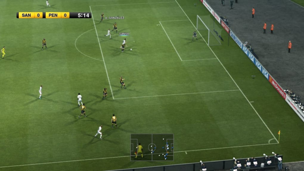 demo jouable pes 2012