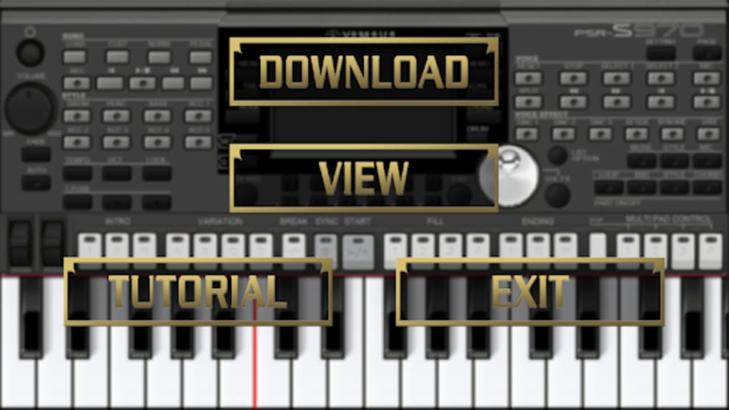 SKIN YAMAHA PSR S970 FOR ORG 2019 for Android - Download