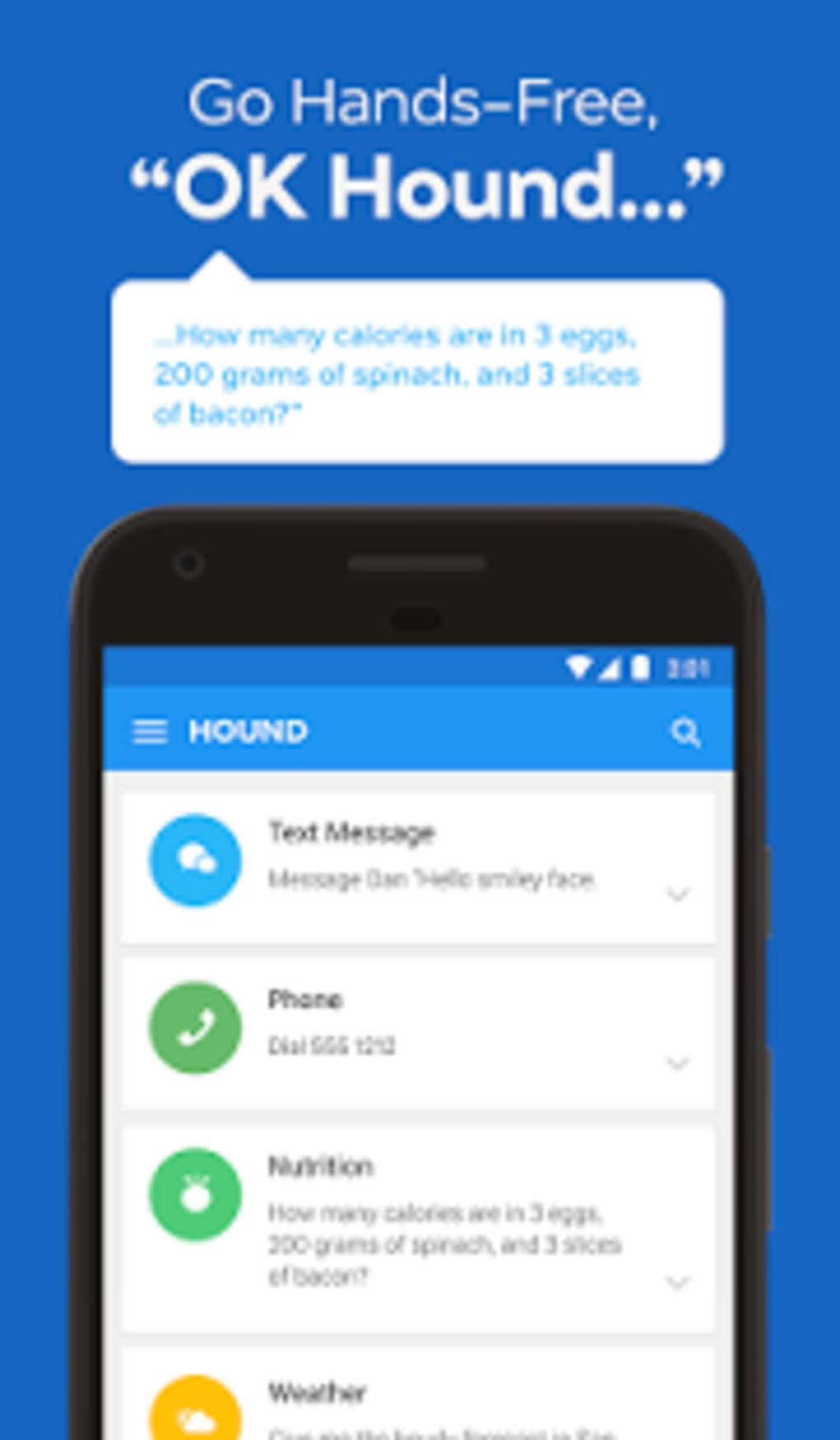 HOUND Voice Search & Assistant for Android - Download