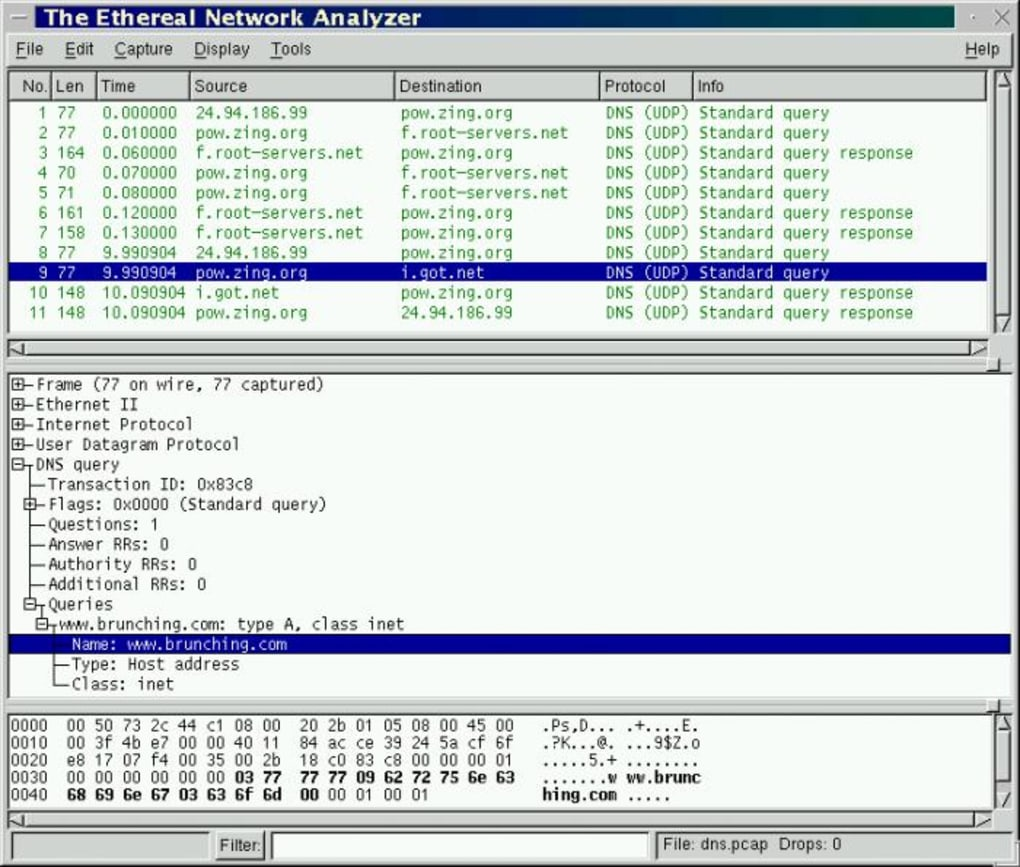 Wireshark - Download