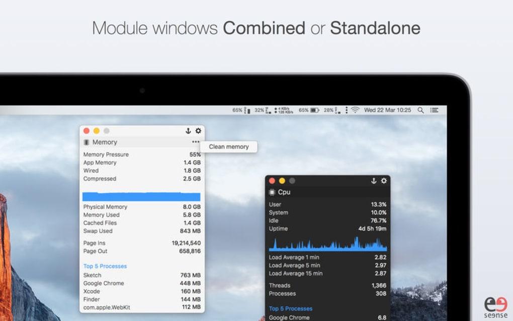MenuBar Stats for Mac - Download