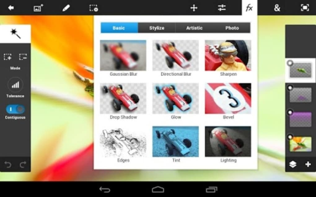 Adobe photoshop touch for android download adobe photoshop touch pros ccuart Image collections