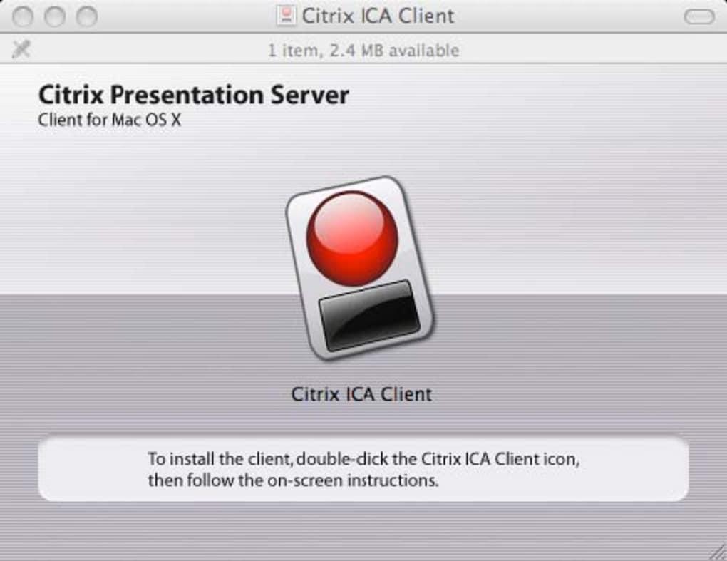 Citrix for Mac (Mac) - Download