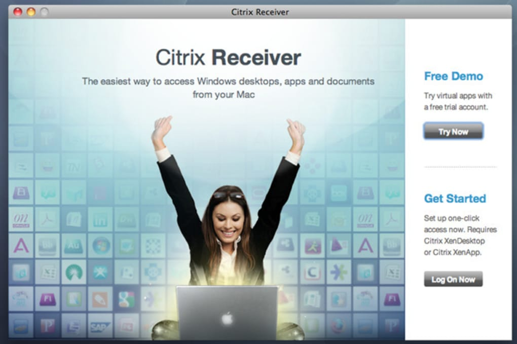 CITRIX RECEIVER MAC TÉLÉCHARGER