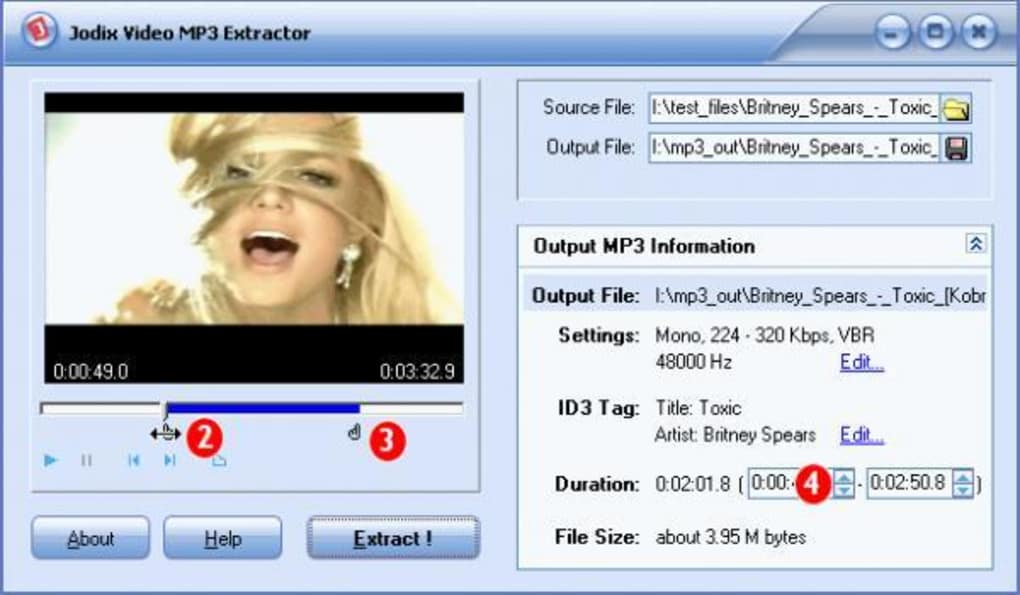 Jodix Video MP3 Extractor - Download