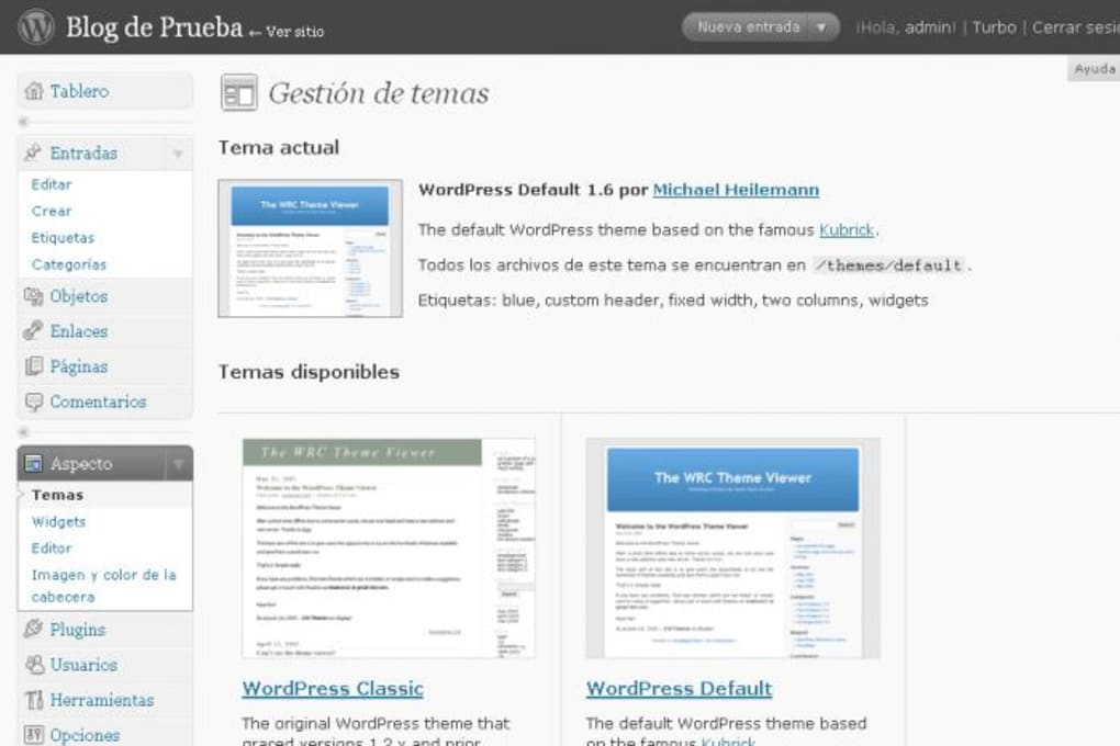 WordPress - Descargar