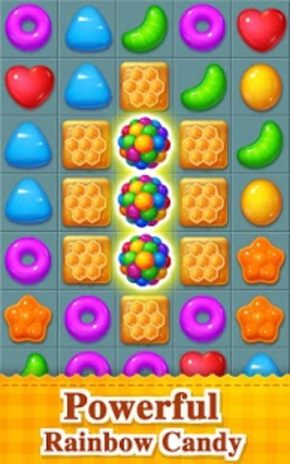 Sweet Candy Bomb For Android Download Game 1 16 Screenshots