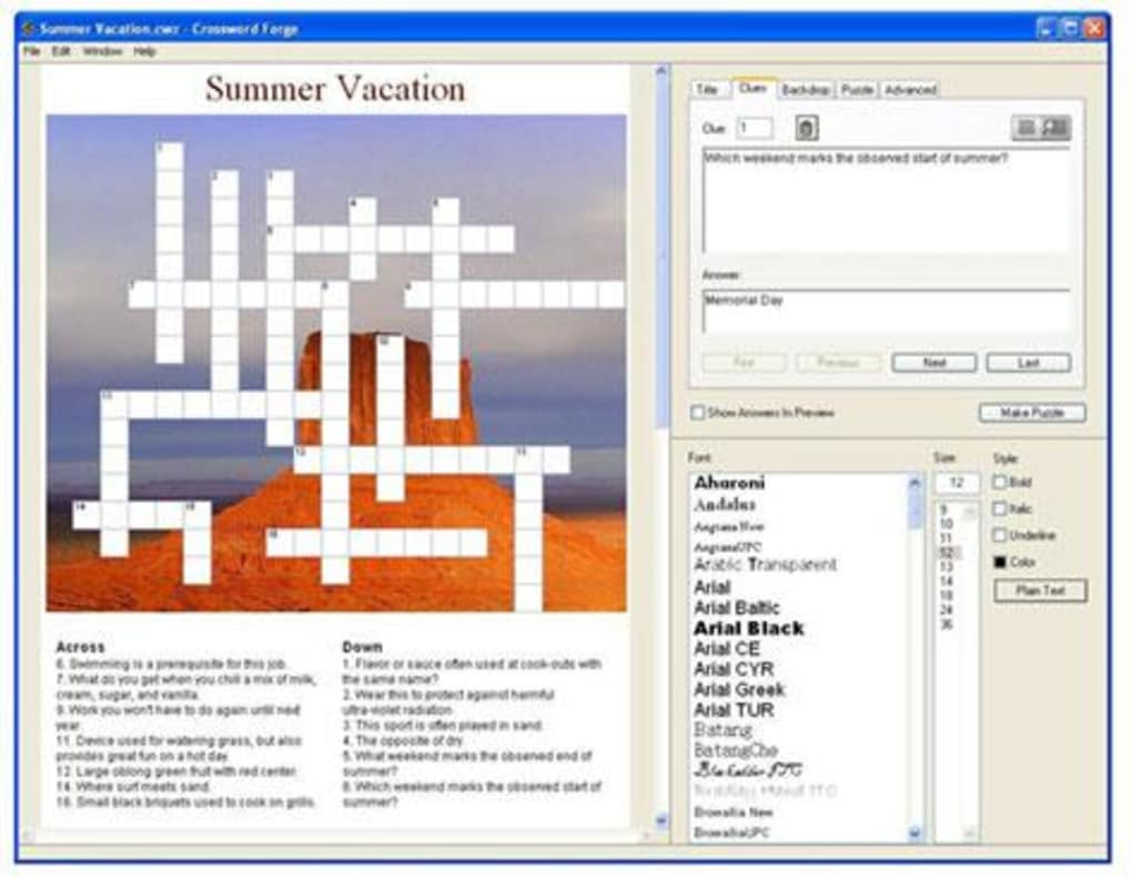 Crossword Forge Download