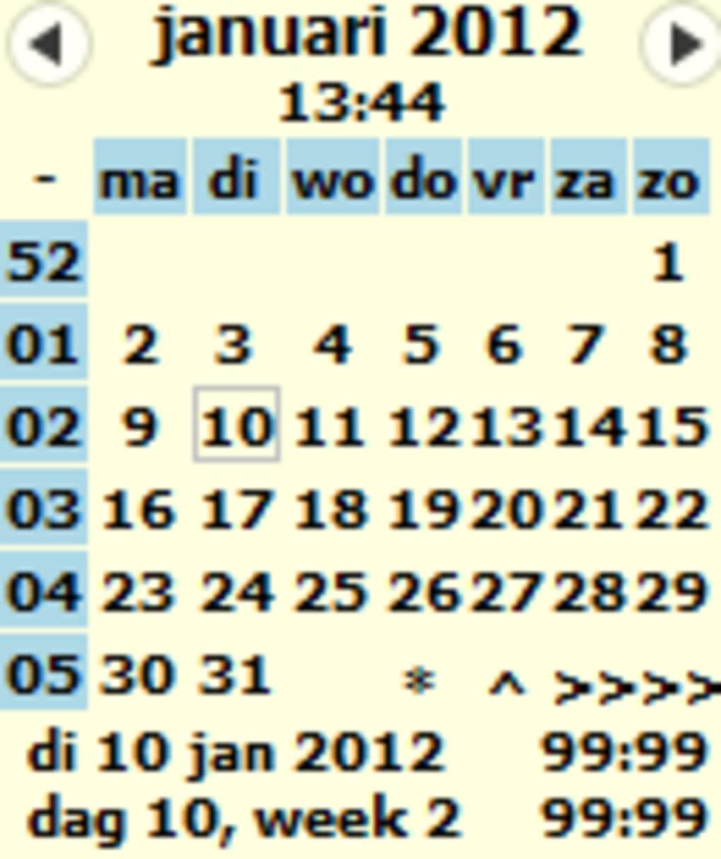 Kalender/Agenda