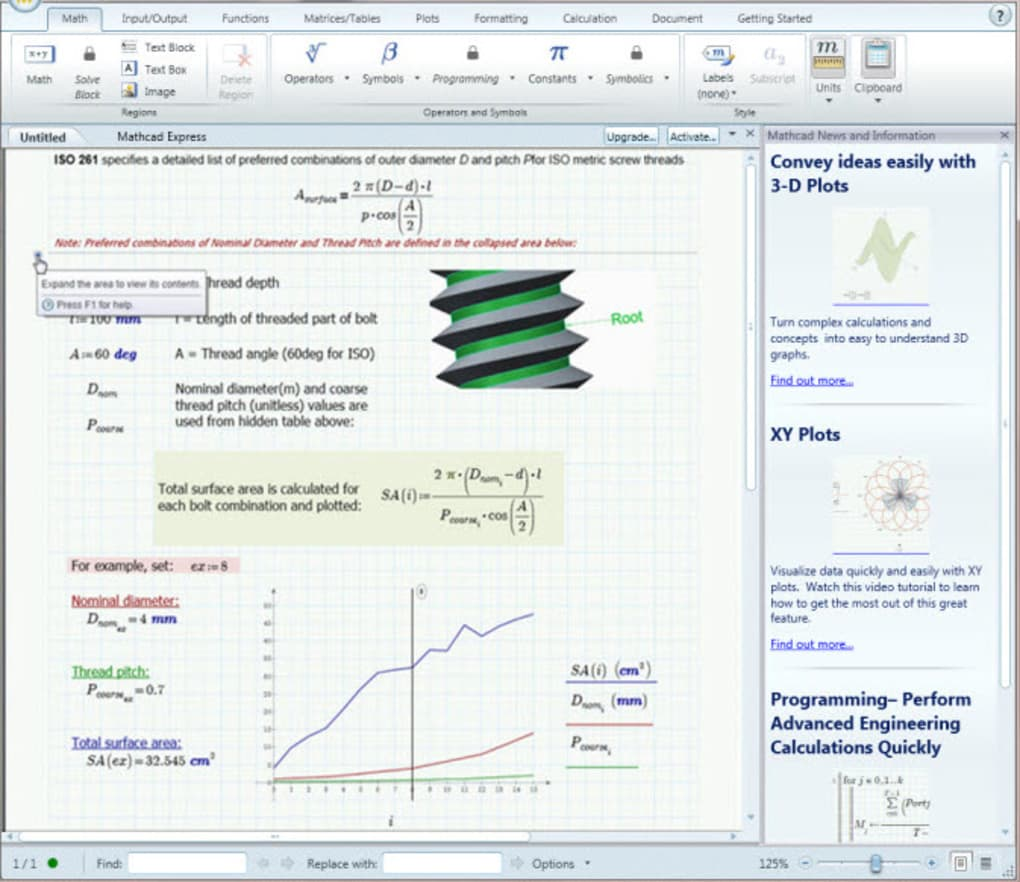 PTC Mathcad Express - Download