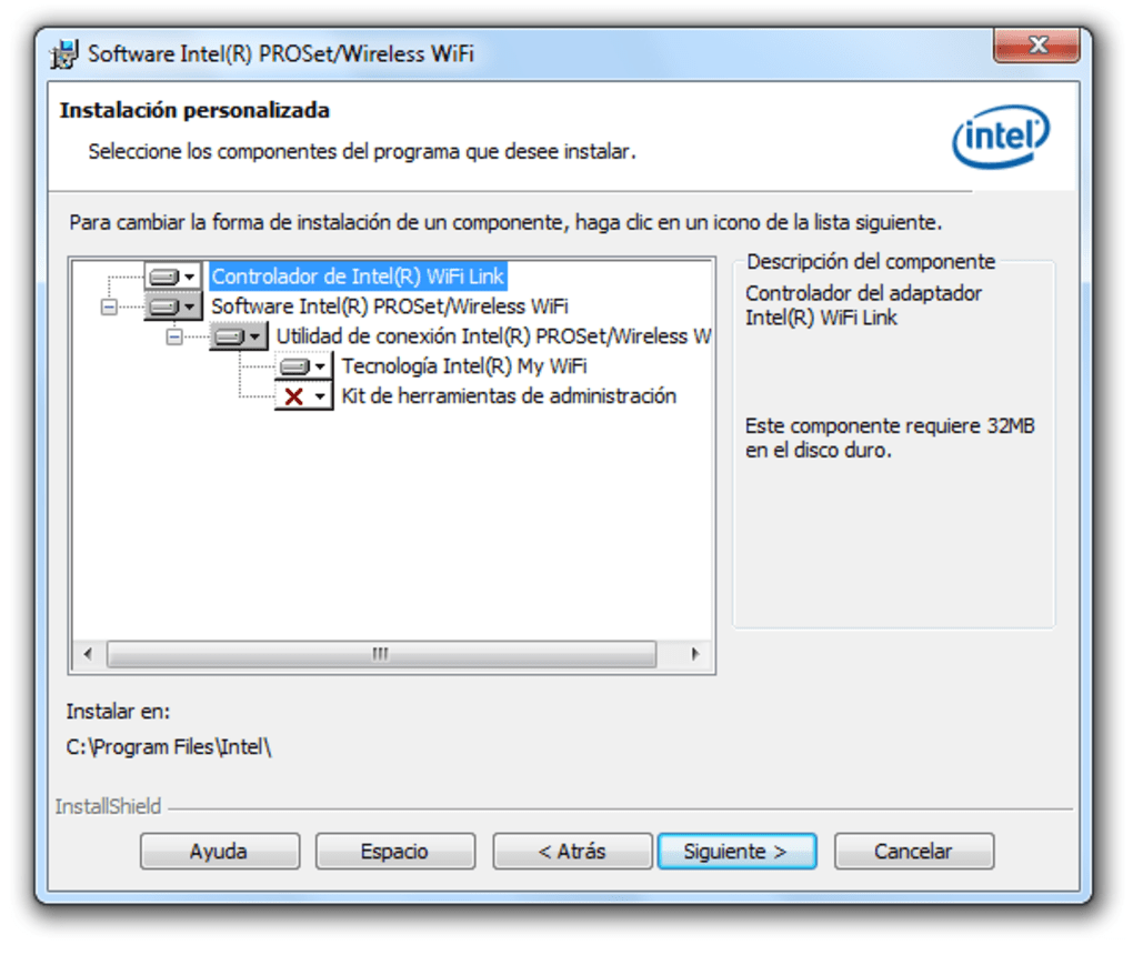 intel proset wireless wifi gratuit