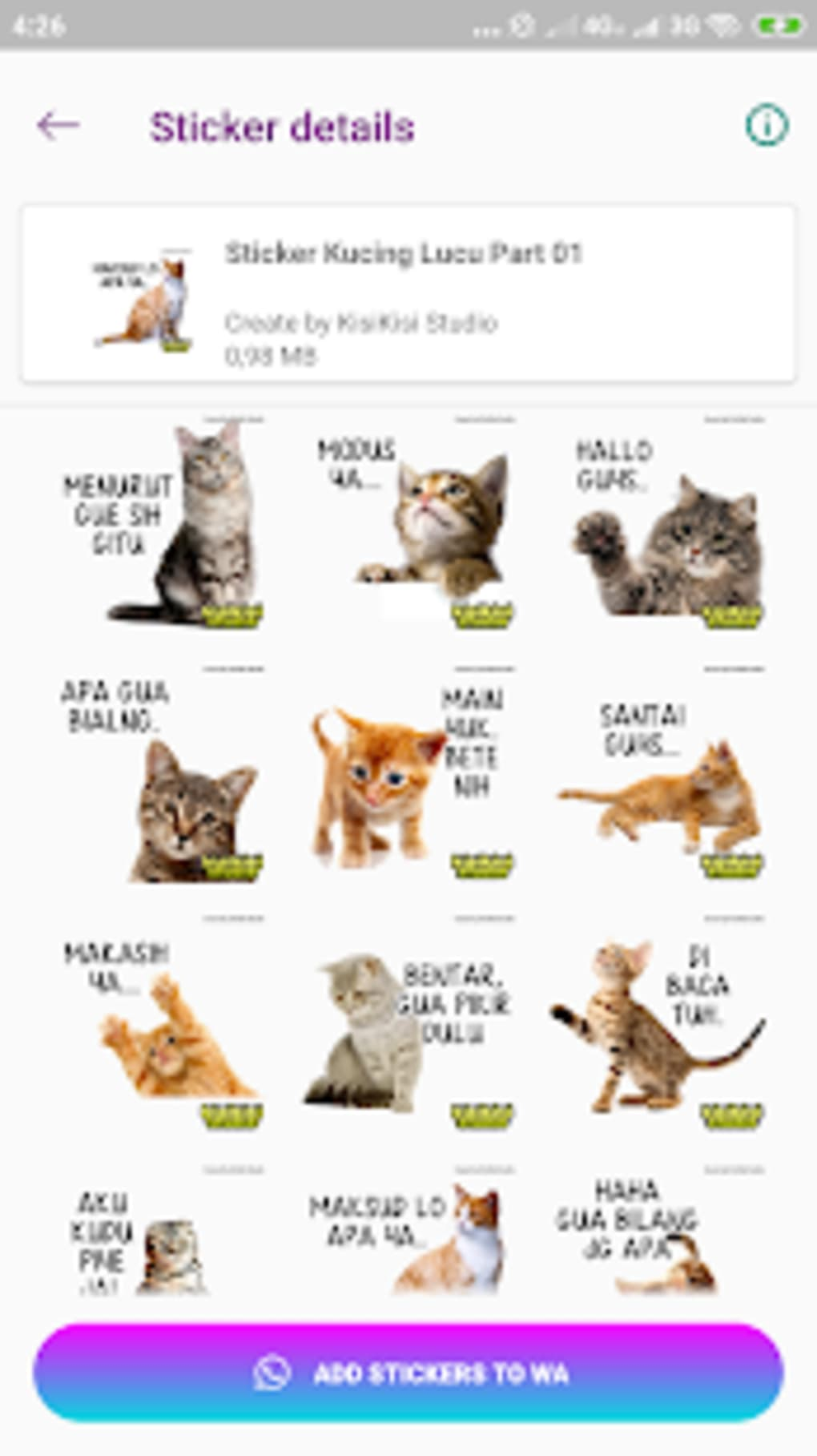 Unduh 61+  Gambar Kucing Lucu For Android Paling Bagus